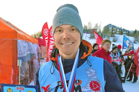 Вбизнесе, какивспорте, Сергею Драчеву важно быть первым. Призовое место наснегоходном фестивале «SnowПоморье— 2020» вАрхангельске