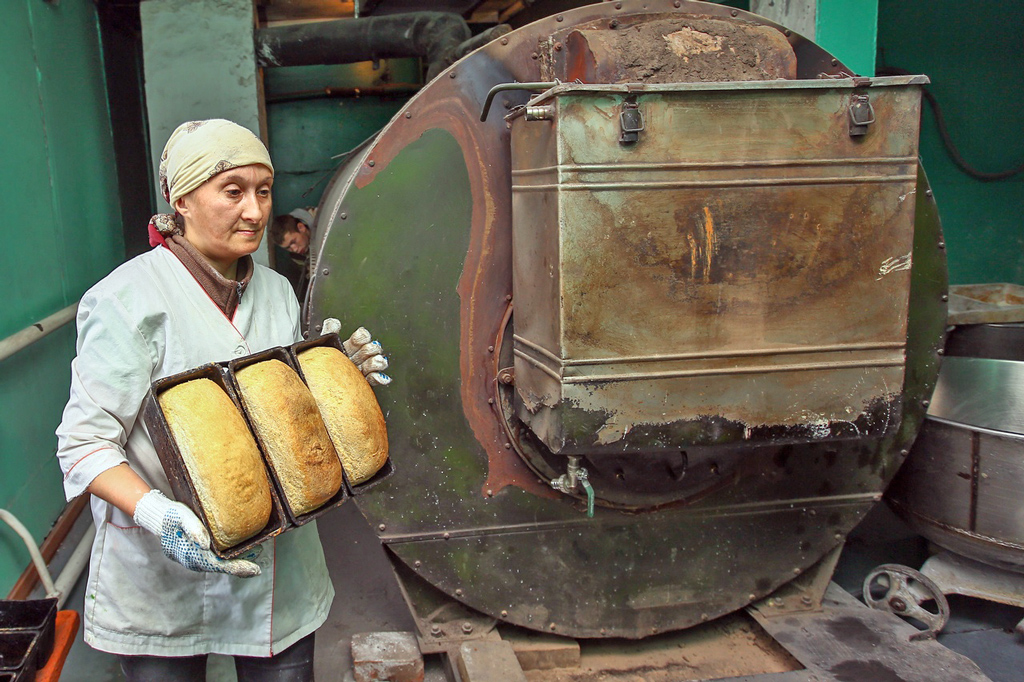 Пекари работают с душой, потому и местный хлеб очень вкусный