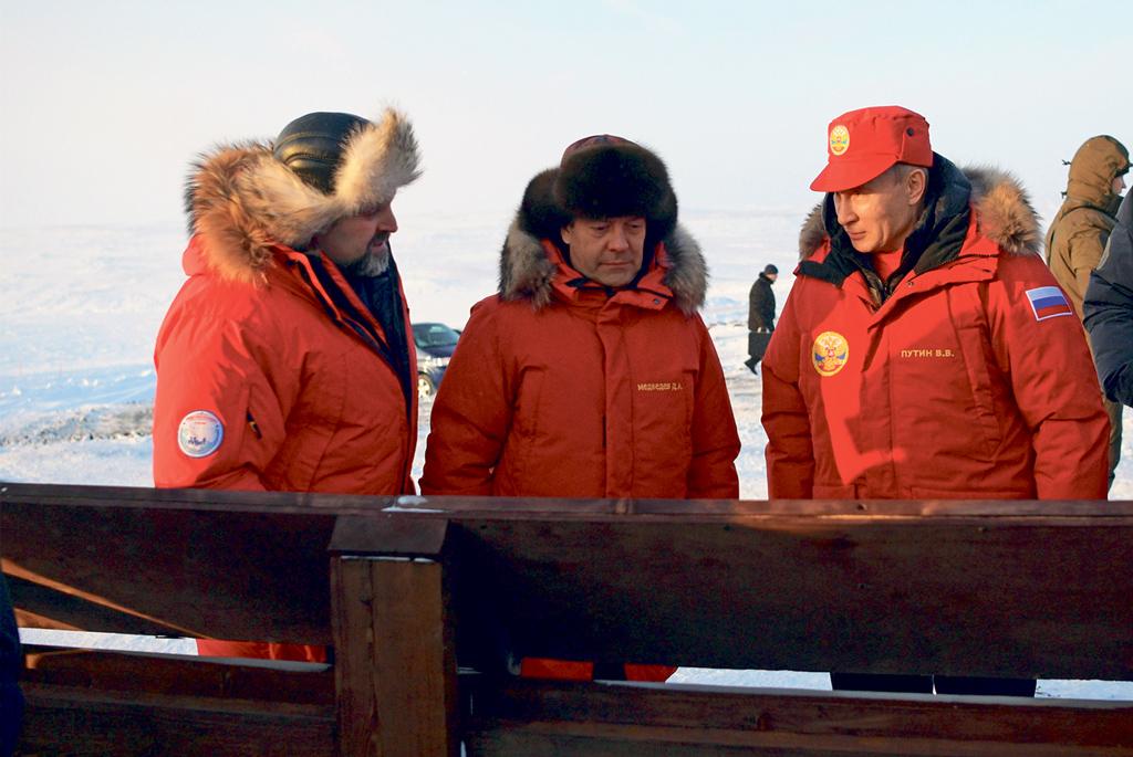 Сергей Донской докладывает о результатах очистки Арктики