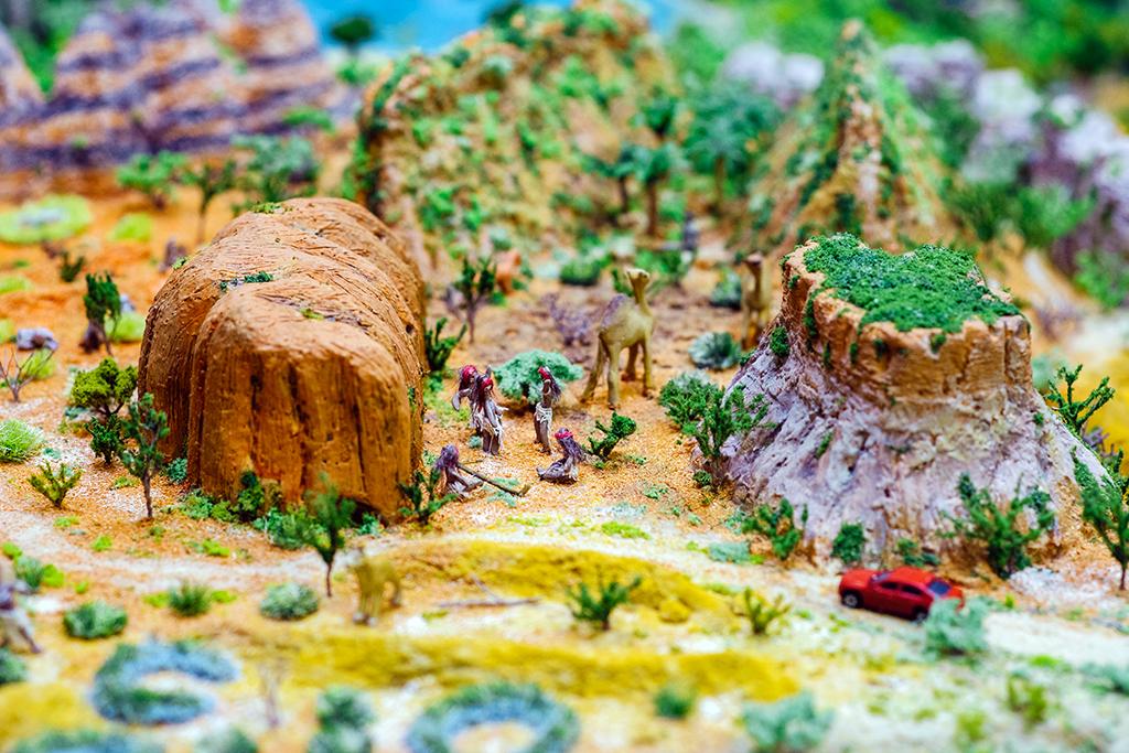Место встречи аборигенов у священной горы Улуру