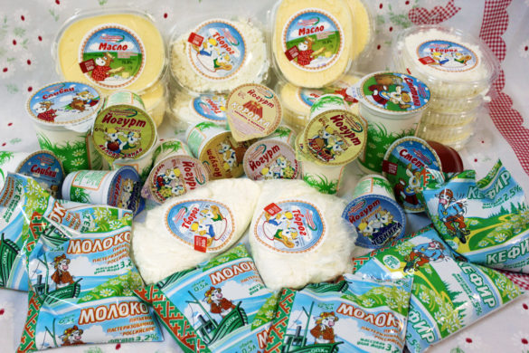 Продукция Ненецкой агропромышленной компании: только из цельного молока ссобственных ферм