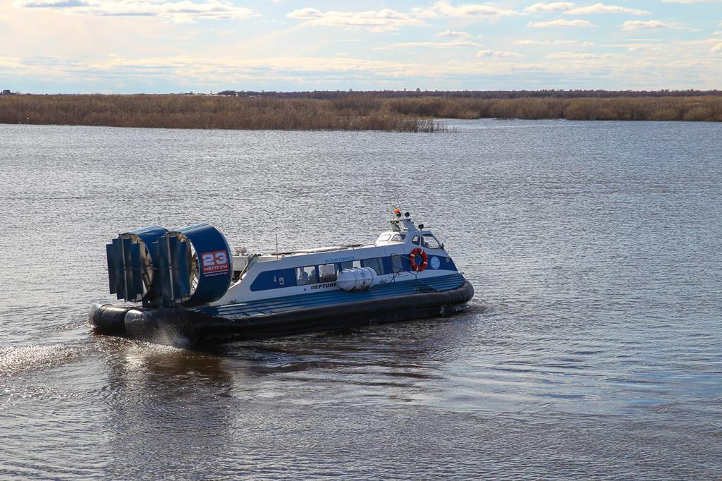 Новое судно в парке Северной транспортной компании—«Василий Самойлов»—можно использовать круглый год