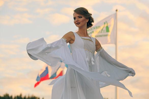 Надежда Вострякова, участница конкурса красавиц