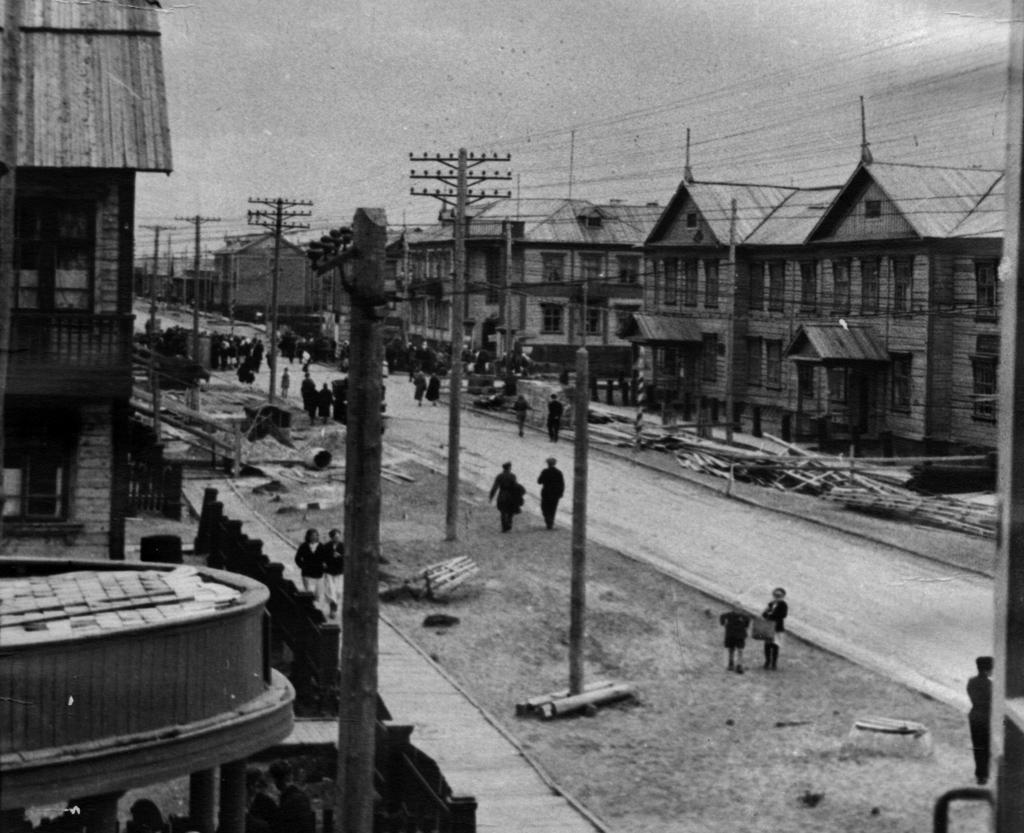 Город Молотовск в час объявления войны, 1941 год