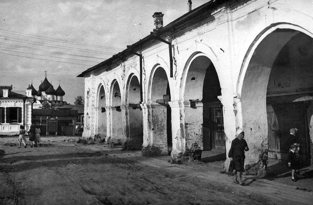 Гостиные дворы, конец 50-х гг.