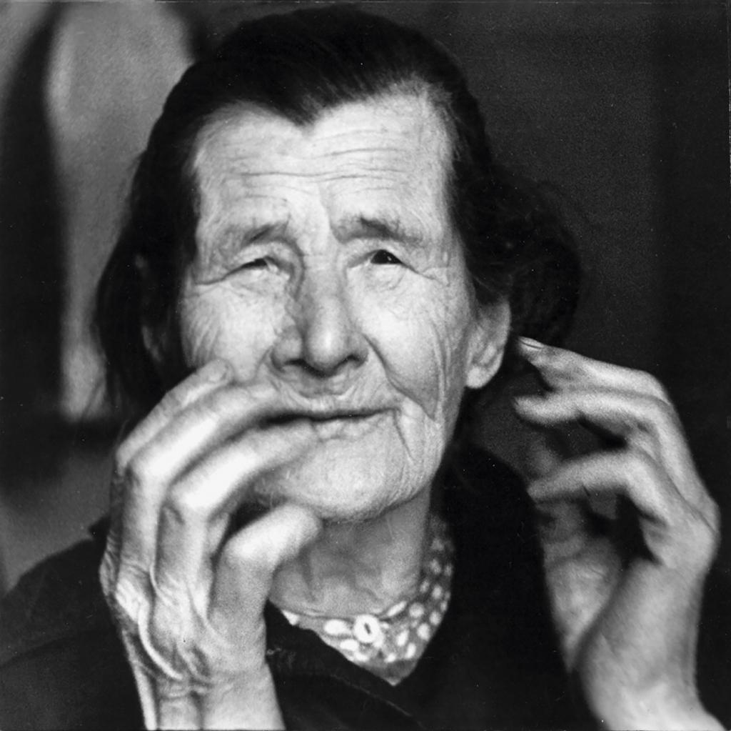 Ефимья Федоровна Клевакина, героиня рассказа «Офимьин хлебец». 1988 год. Фото Людмилы Егоровой