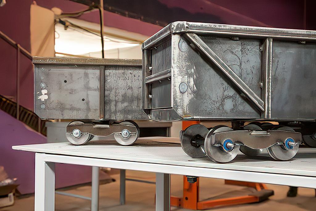 Конкурсное задание — модель железнодорожного вагона