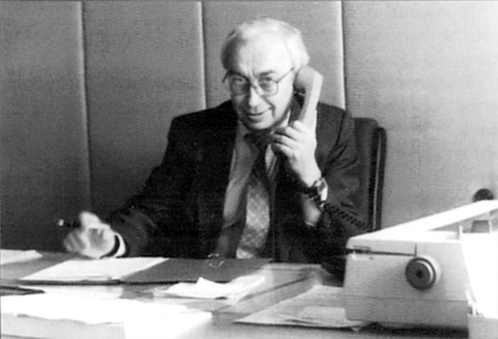 Валерий Кудрявцев, первый главврач больницы