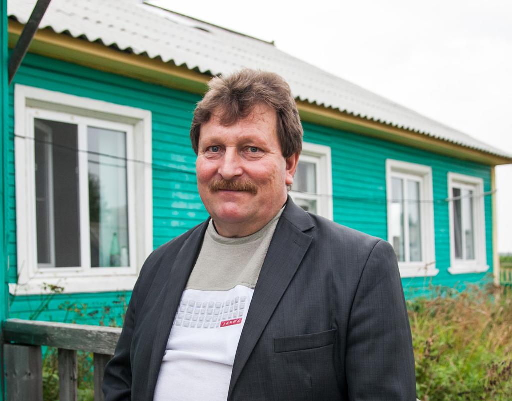 Леонид Кузнецов, председатель колхоза «40 лет Октября»