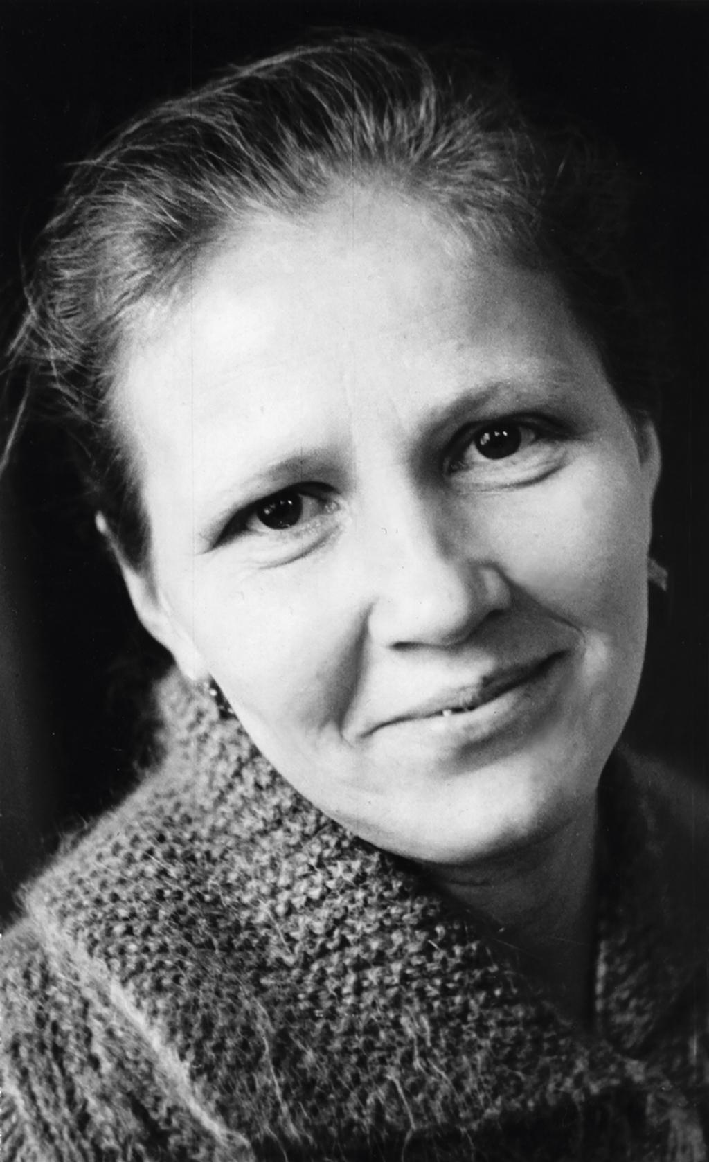 Надежда Григорьевна Абрамова, героиня рассказа «Босиком». 1990 год. Фото Людмилы Егоровой