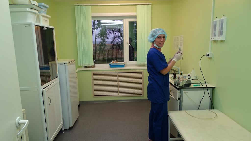 Процедурная сестра с легкой рукой— гарант хорошего настроения пациента