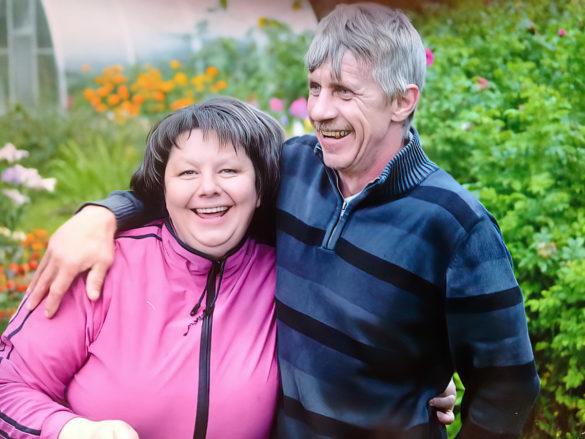 Татьяна Седунова с мужем Юрием