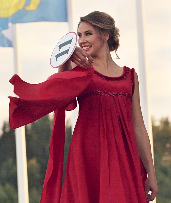Дарья Узкая, участница конкурса красавиц