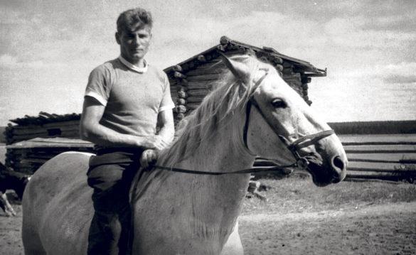 Михаил Иванович Абрамов. Веркола, 1955. Автор фото — Федор Абрамов