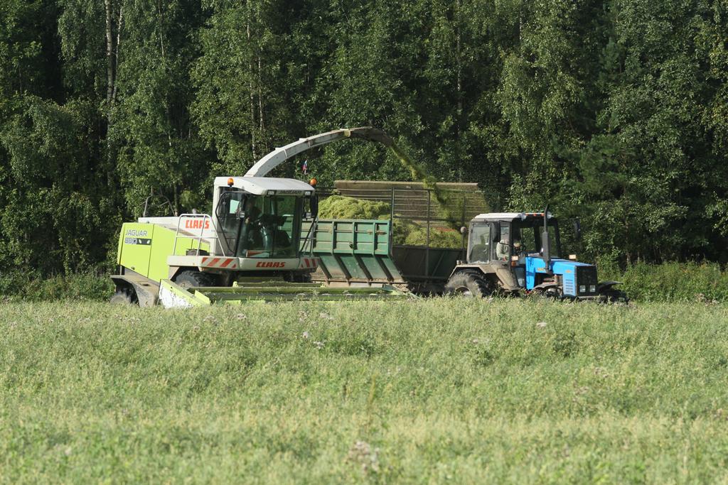 Технические ресурсы — на увеличение урожайности и скорости уборки кормов