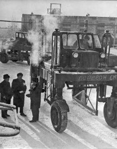 Соломбальский машиностроительный завод. Продукция завода. 1973г. Фото К. С. Коробицына