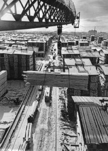 Биржа пакетов СБДК. Архангельск. 1973г. Фото К. С. Коробицына