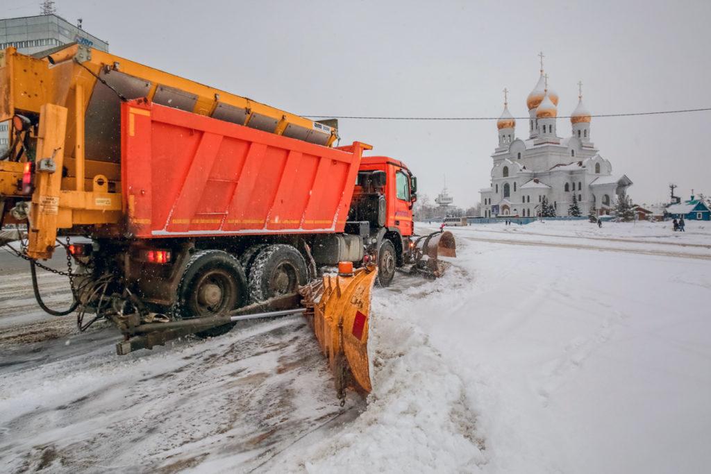 500 километров дорог в Архангельске —зона ответственности Плесецкого ДУ