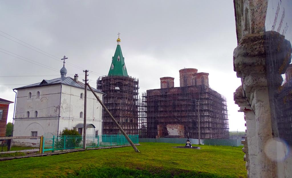 Реставрация кафедрального Спасо-Преображенского собора продолжается