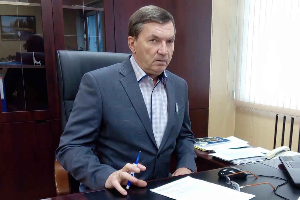 Директор ООО «Шалакушалес» СергейЛеушев