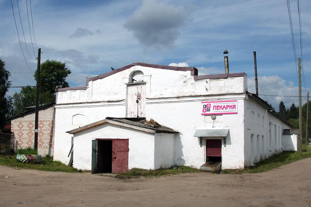 Пекарня в поселке Пинега