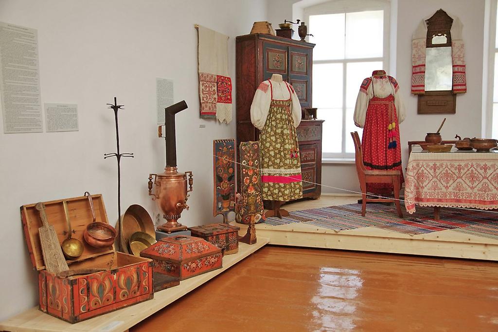 Интерьер экспозиции музея