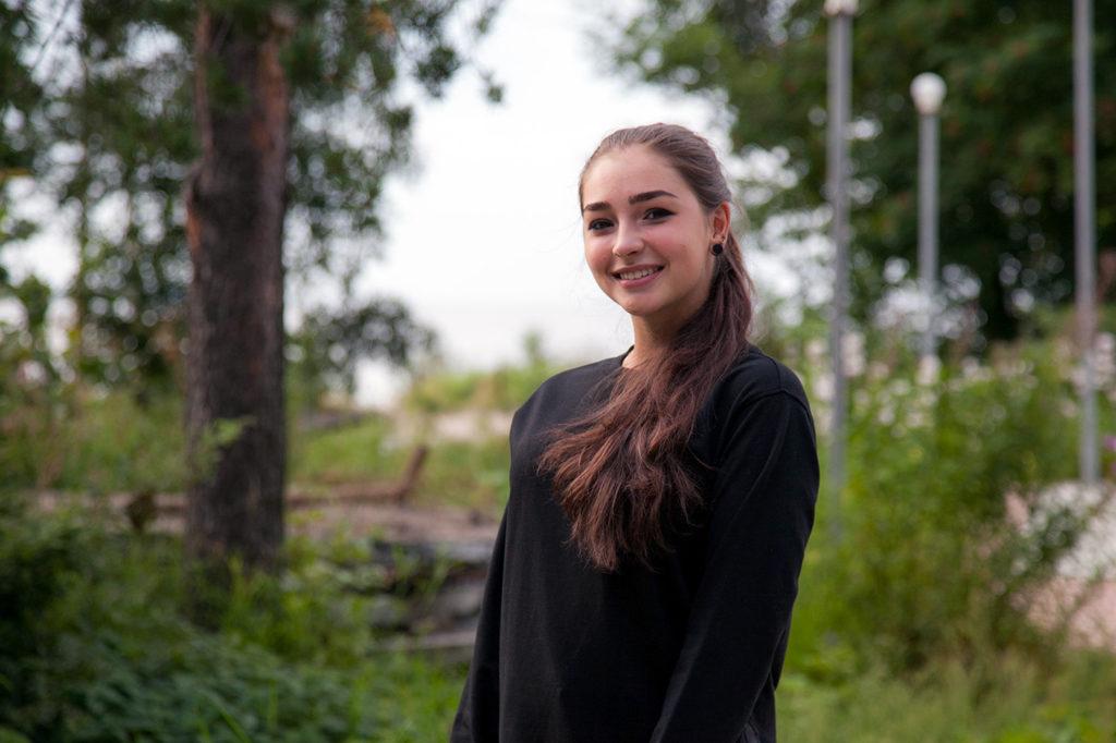 По окончании школы Валерия мечтает учиться в институте МВД, а после учебы вернуться в родную Онегу