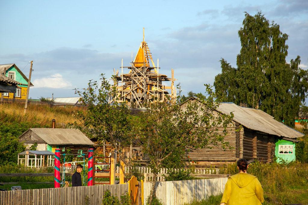 Церковь в Покровском