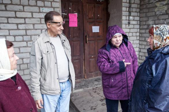 Каргопольцы довольны работой компании Андрея Митрохина