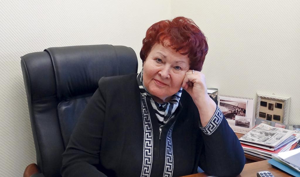 Генеральный директор Ломоносовского фонда Галина Добрунова.