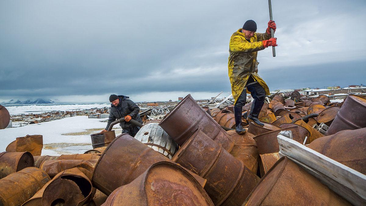 Большая арктическая уборка: какэто было
