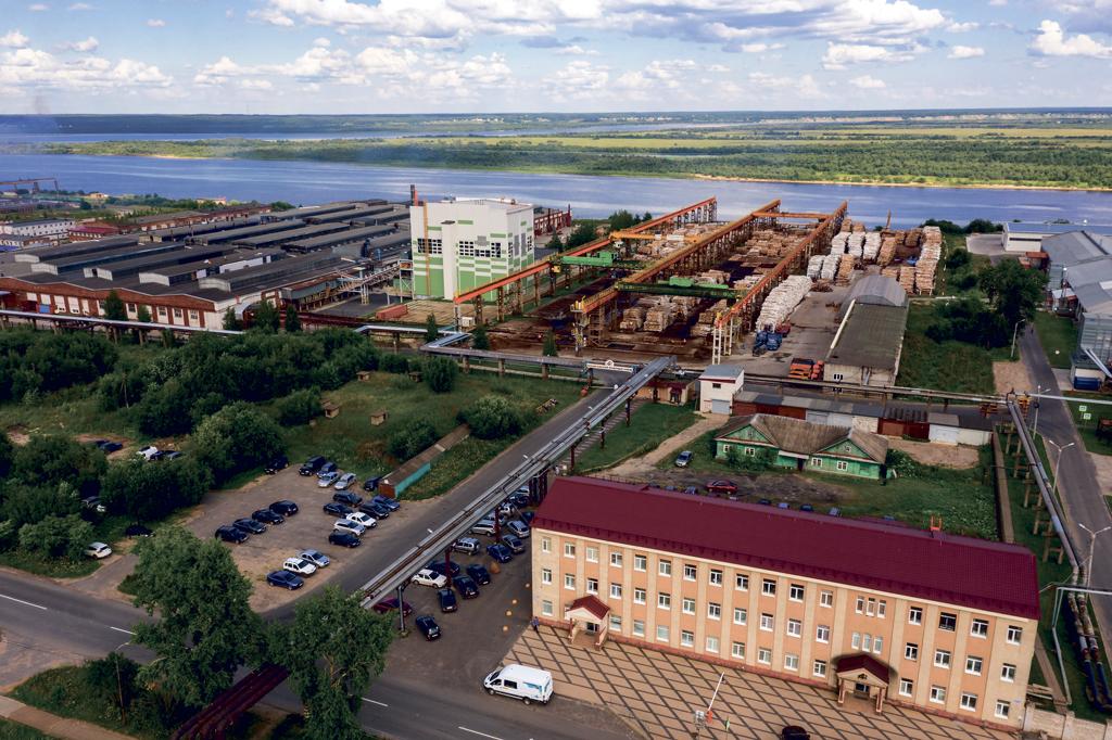 Архангельский фанерный завод сегодня