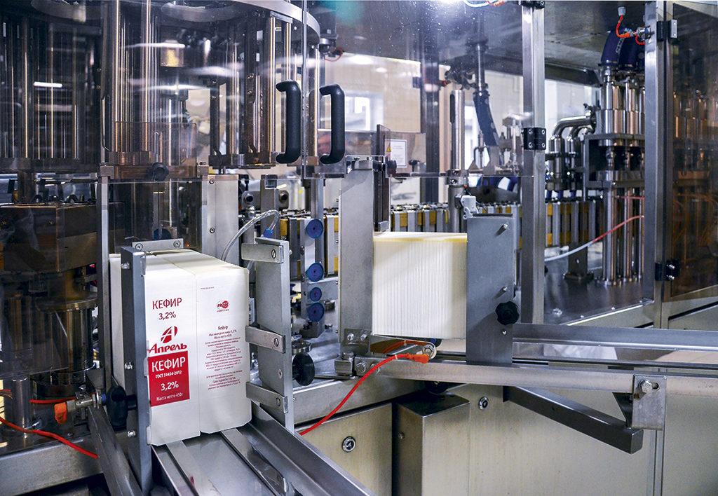 В цехе установлено новое современное оборудование ведущих производителей, соответствующее высоким мировым стандартам производства молочной продукции