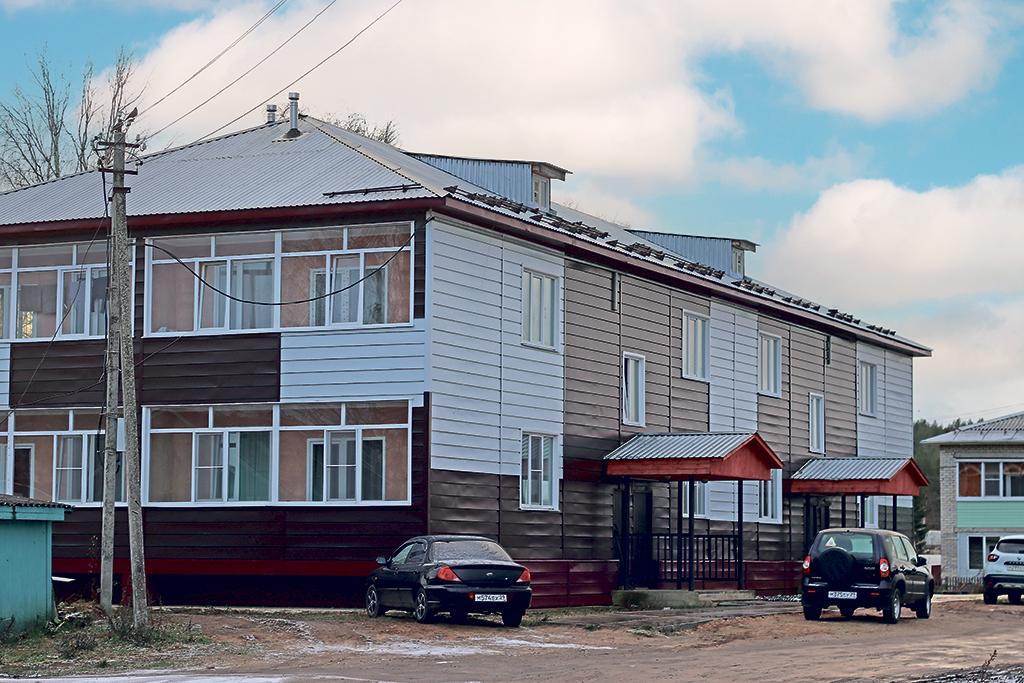 Для своих сотрудников ООО «Ростово» построило дом