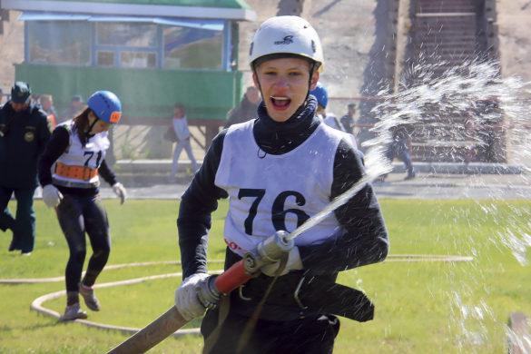 Детские областные игры по пожарноспасательному спорту