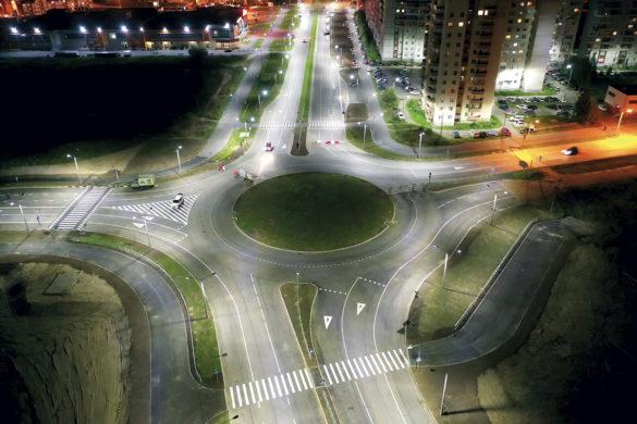 Реконструкция проспекта Морского от улицы Малая Кудьма до проспекта Победы в Северодвинске, второй этап