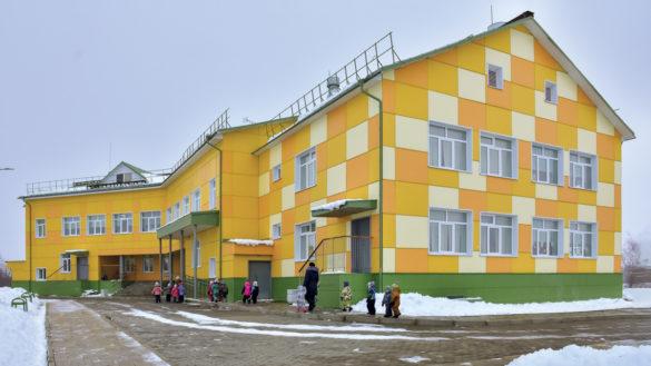 Новый детский сад в поселке Каменка