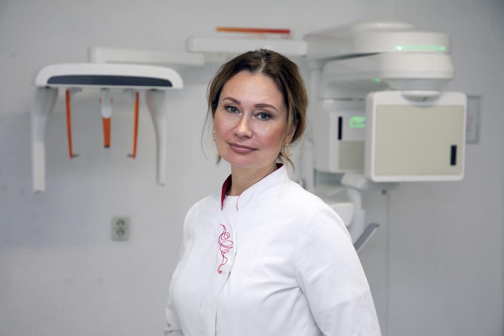 Врач-рентгенолог высшей квалификационной категории Анастасия Парфенова