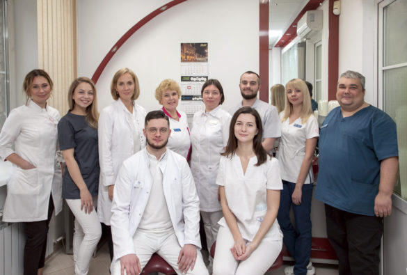 Коллектив лечебно-консультативного отделения АОКСП