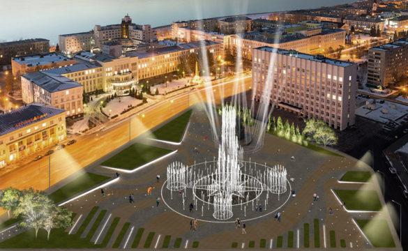 Архитектурная концепция реконструкции площади Ленина