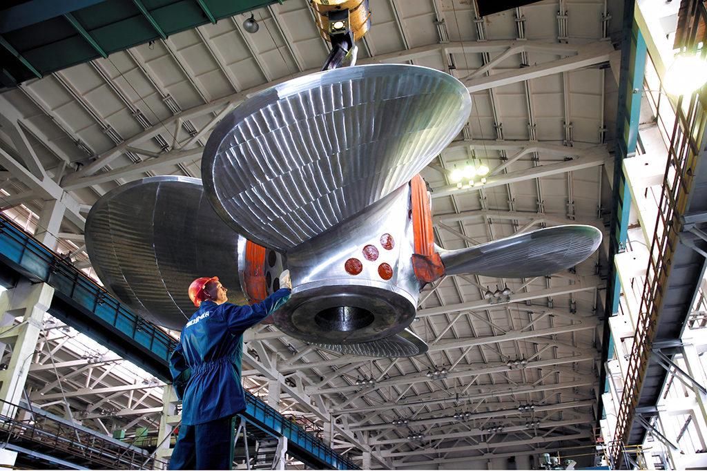 Производство винтов для арктических судов