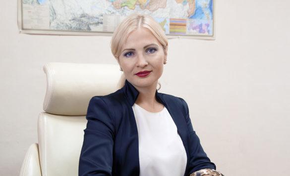 Генеральный директор ООО «Агрофирма «Устьянская» Елена Лобанцова