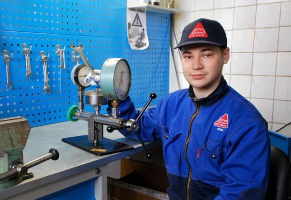 Данил Шестаков — наладчик контрольноизмерительных приборов и автоматики