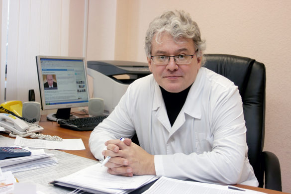 Виктор Голубцов, руководитель ЦМСЧ