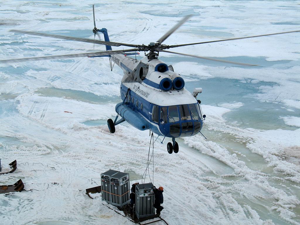 Вертолетный парк представлен МИ-8т, МИ-8 мтв и МИ-26т — самым грузоподъемным в мире, а самолетный — АН-2 и Л-410 УВП-Э