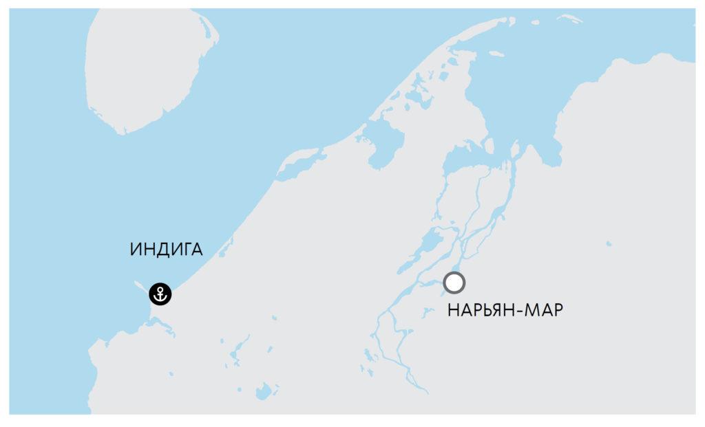 Незамерзающий глубоководный порт в Индиге приведет к появлению мощного транспортного коридора в Арктике и опорного пункта на Севморпути