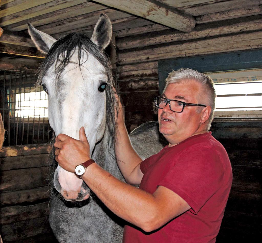 Андрей Перетягин— управляющий коневодческим комплексом