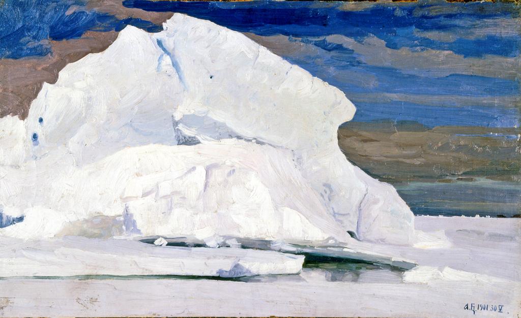 В Карском море. 1901 г. фрагмент.
