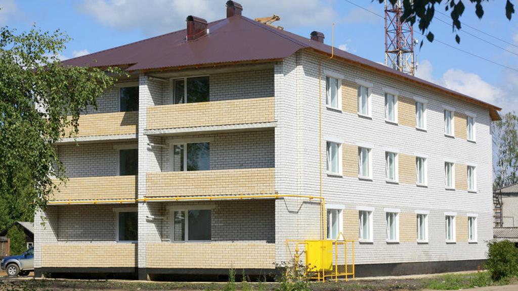 Полностью благоустроенный дом для переселенцев