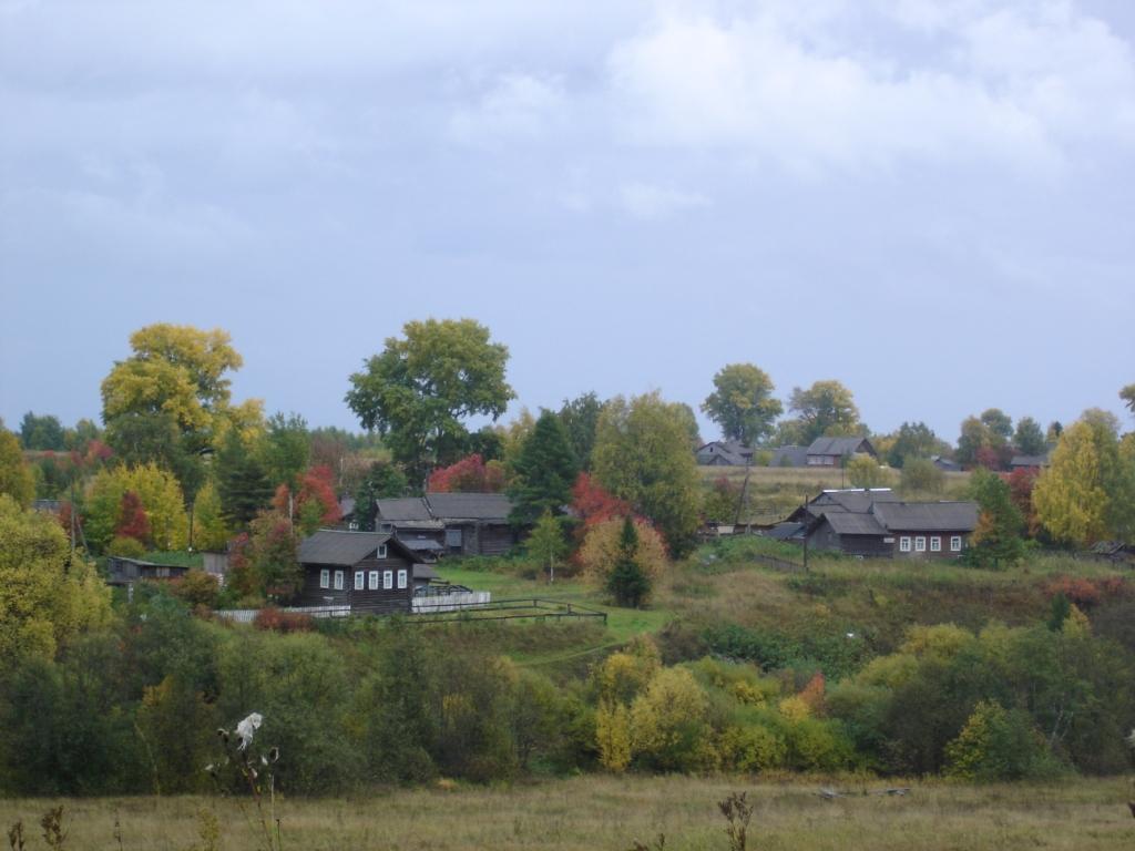 Евдские деревни вдолине. Осень